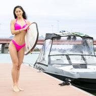 AYANOウェイクサーフィン挑戦