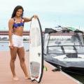 【動画】超人女子「まいティ」こと田上舞子がウェイクサーフィンに挑戦!PART 4<最終回>