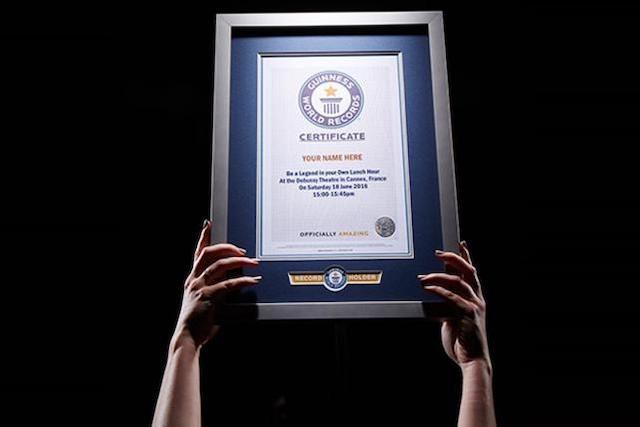 ウェイクサーフィンギネス世界記録